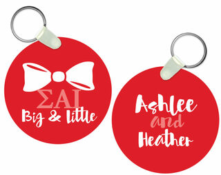 Sigma Alpha Iota Big and Little Keychain