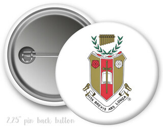 Sigma Alpha Iota Color Crest - Shield Button