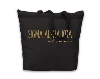 Sigma Alpha Iota Gold Foil Alumna Tote