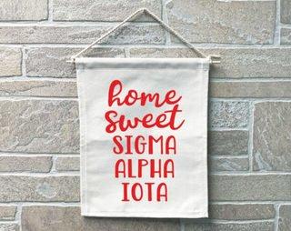 Sigma Alpha Iota Home Sweet Home Banner