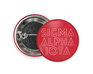 Sigma Alpha Iota Modera Button