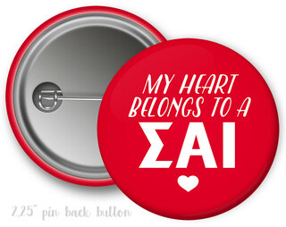 Sigma Alpha Iota My Heart Belongs to a Button