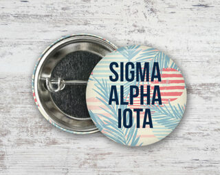 Sigma Alpha Iota Paradise Found Button