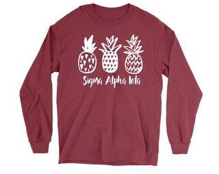 Sigma Alpha Iota Pineapple Long Sleeve