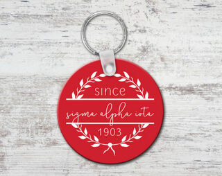 Sigma Alpha Iota Since Established Keyring