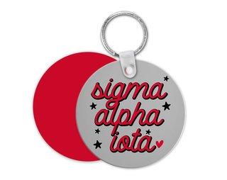 Sigma Alpha Iota Star Key Chain