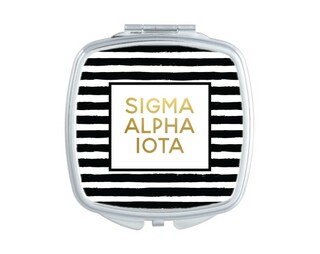 Sigma Alpha Iota Striped Compact