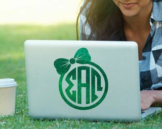 Sigma Alpha Omega Bow Decal