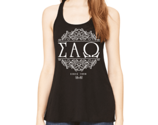 Sigma Alpha Omega Scroll Tank