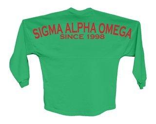 Sigma Alpha Omega Since Jersey