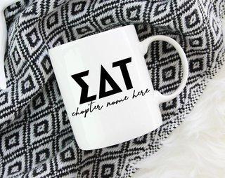 Sigma Delta Tau Chapter Mug