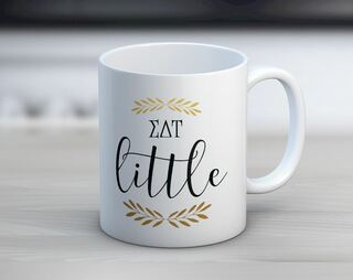 Sigma Delta Tau Little Coffee Mug