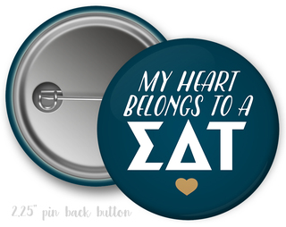 Sigma Delta Tau My Heart Belongs to a Button