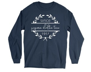 Sigma Delta Tau Since 1917 Long Sleeve