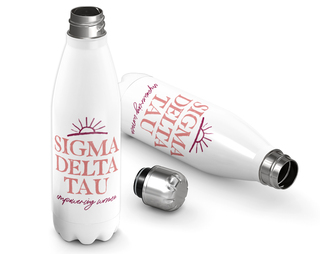 Sigma Delta Tau Sun Water Bottle