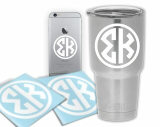 Sigma Kappa Circle Decal