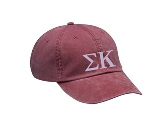 Sigma Kappa Letters Hat