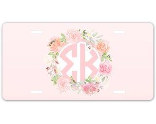 Sigma Kappa Monogram License Plate