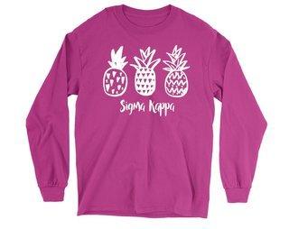 Sigma Kappa Pineapple Long Sleeve