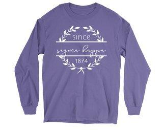 Sigma Kappa Since 1874 Long Sleeve