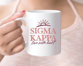 Sigma Kappa Sun Mug