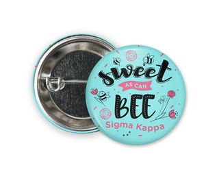 Sigma Kappa Sweet Bee Button