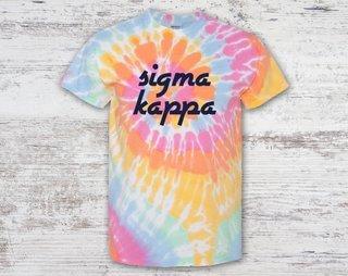 Sigma Kappa Tie Dye Tee