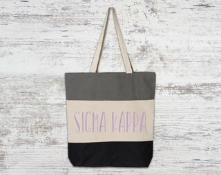 c5a045fabe Sigma Kappa Bags & Totes - Greek Clothing - Greek Gear