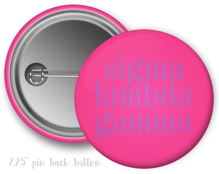 Sigma Lambda Gamma Simple Text Button