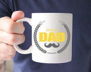 Sigma Nu Dadstache Mug