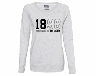 Sigma Sigma Sigma Established Crewneck Sweatshirt
