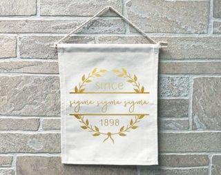 Sigma Sigma Sigma Since Banner