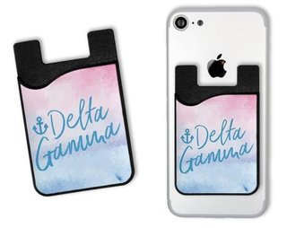 Sorority Watercolor Caddy Phone Wallet