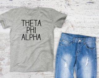 Theta Phi Alpha Campus Tee