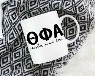 Theta Phi Alpha Chapter Mug