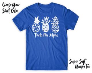 Theta Phi Alpha Pineapple Tee