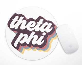 Theta Phi Alpha Retro Mousepad
