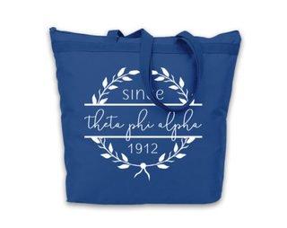 Theta Phi Alpha Since Established Tote bag