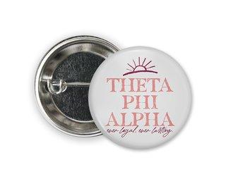 Theta Phi Alpha Sun Button