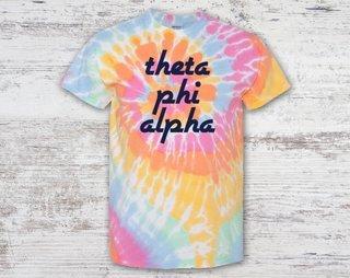 Theta Phi Alpha Tie Dye Tee