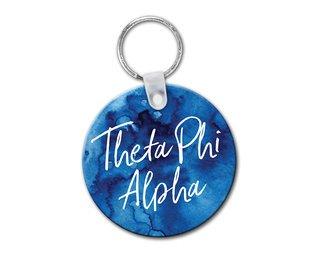 Theta Phi Alpha Watercolor Keychain
