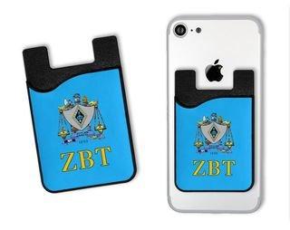 Zeta Beta Tau Crest Card Wallet