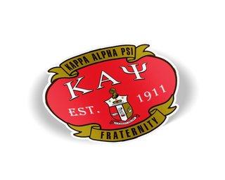 Kappa Alpha Psi Banner Crest - Shield Decal