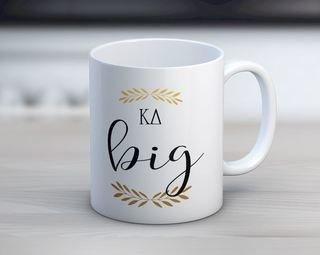 Kappa Delta Big Coffee Mug