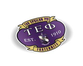 Tau Epsilon Phi Banner Crest - Shield Decal