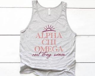 Alpha Chi Omega Sun Tank