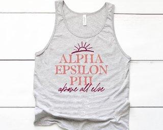 Alpha Epsilon Phi Sun Tank