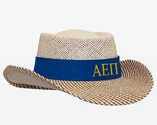 Alpha Epsilon Pi Straw Hat