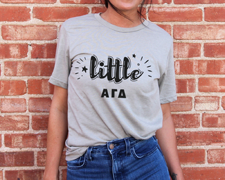Alpha Gamma Delta Little Sister Bella T-Shirt