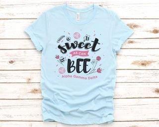 Alpha Gamma Delta Sweet As Can Bee Tee